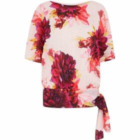 Coast Floral Batwing Top