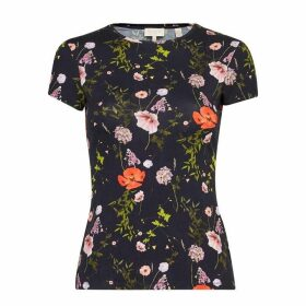 Ted Baker Jinene Hedgerow Fitted T-Shirt