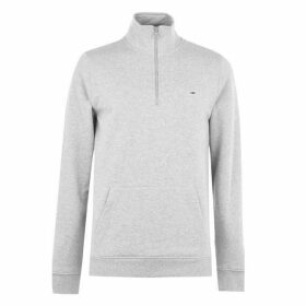 Tommy Jeans Mock Neck Fleece