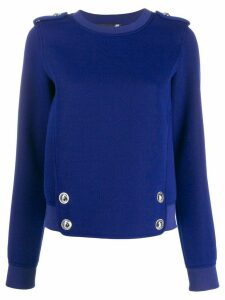 Love Moschino bib jumper - Blue