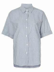 Lee Mathews Riley boxy short sleeve shirt - Blue