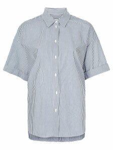 Lee Mathews Riley boxy short sleeve shirt - Blue