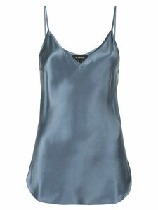 Lee Mathews V-neck cami top - Blue