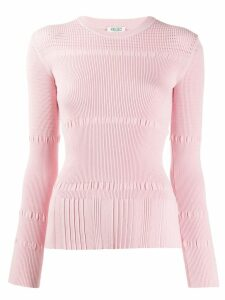 Kenzo ribbed knit sweater - PINK