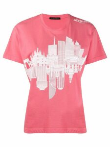 Mr & Mrs Italy landmark print T-shirt - PINK