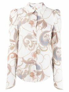 See By Chloé paisley print shirt - White