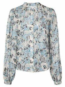 Veronica Beard floral print blouse - Blue