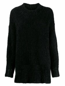 Isabel Marant oversized high neck sweater - Black