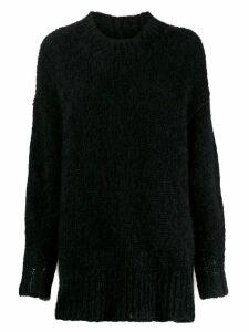 Isabel Marant oversized high neck sweater - Black
