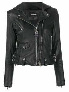 Diesel studded biker jacket - Black