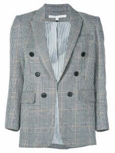 Veronica Beard checked print blazer - Grey