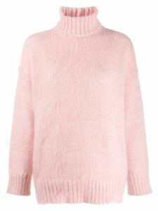 Nº21 turtleneck knit jumper - PINK