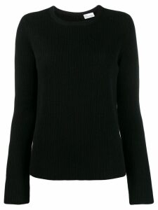 Red Valentino point d'esprit tulle sweater - Black