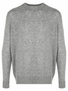 The Elder Statesman Tranquility Cashmere Sweater - Grey