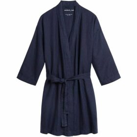 Sandwich Linen Robe Jacket