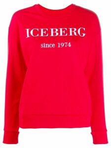 Iceberg embroidered logo sweatshirt
