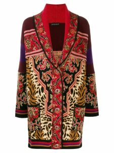 Etro knitted cardi-coat - Black
