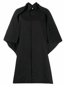 Y's cape shirt - Black