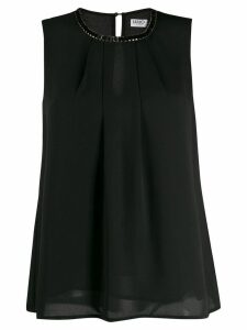 LIU JO embellished sleeveless top - Black