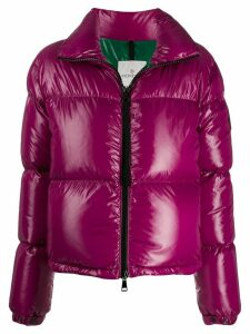 Moncler fitted puffer jacket - PINK