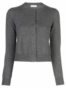 Brunello Cucinelli concealed buttonned cardigan - Grey