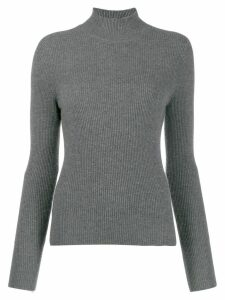 N.Peal funnel neck jumper - Grey