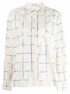 Henrik Vibskov printed shirt - White