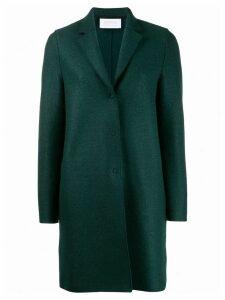 Harris Wharf London single-breasted coat - Green