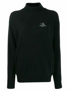 Calvin Klein Jeans Est. 1978 logo jumper - Black