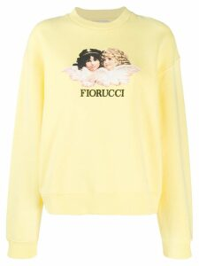 Fiorucci Vintage Angels sweatshirt - Yellow