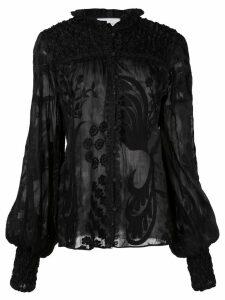 Alexis Bismarck blouse - Black