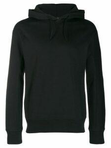 Y-3 logo printed hoodie - Black