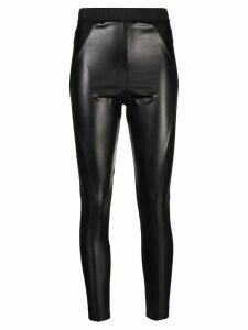 Sacai panelled leggings - Black