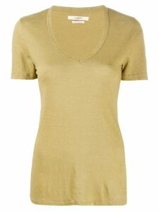 Isabel Marant Étoile fitted T-shirt - Green