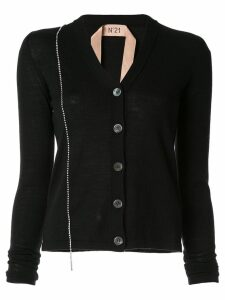 Nº21 embellished fitted cardigan - Black