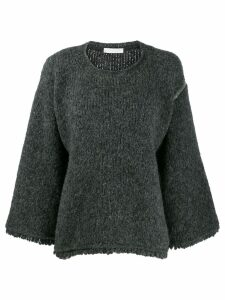 Fabiana Filippi knitted jumper - Grey