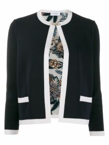 Salvatore Ferragamo Gancini buckle cardigan - Blue