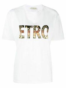 Etro logo T-shirt - White