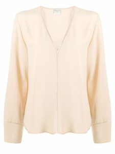 Forte Forte loose fit shirt - NEUTRALS