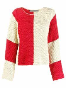 Raquel Allegra bold stripe jumper - NEUTRALS