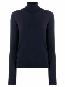 Maison Margiela turtle neck pullover - Blue
