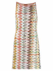 Missoni short fine knit dress - Pink