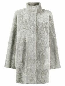 Drome lamb fur coat - Grey