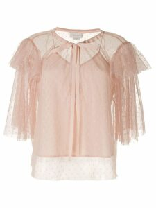 Karen Walker Pimpernel blouse - PINK