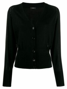 Joseph long sleeve knit cardigan - Black