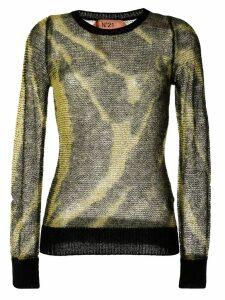 Nº21 tie-dye effect jumper - Yellow