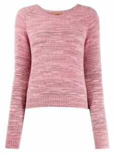 Missoni gradient knit jumper - PINK