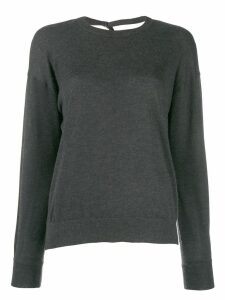 Brunello Cucinelli Sollato Dietro jumpers - Grey