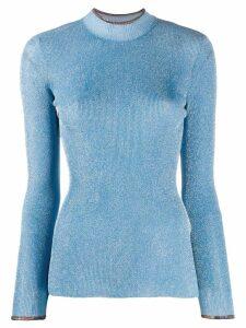 Missoni glitter knit jumper - Blue