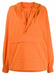 Calvin Klein Jeans Est. 1978 oversized pullover jacket - SNR ORANGE